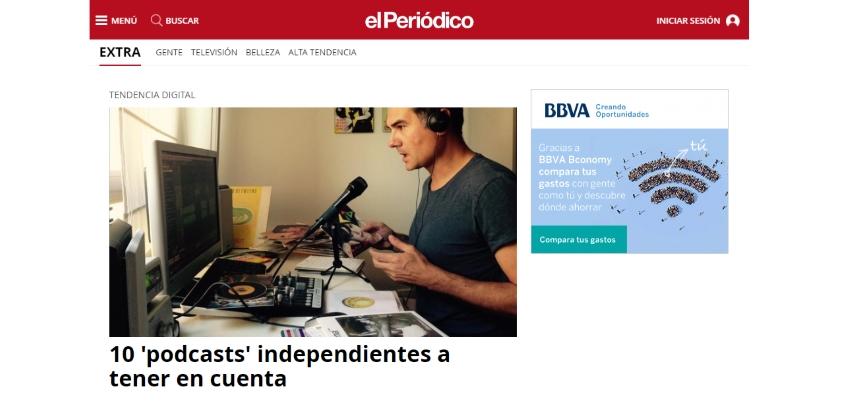 HistoCast entre los elegidos por El Periódico