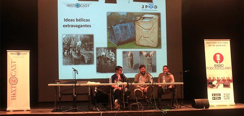 Ideas bélicas extravagantes , directo de las JPOD17Alc
