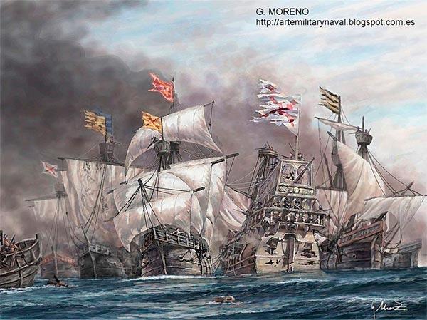 Batalla de las Islas Terceras por Gonzalo Moreno