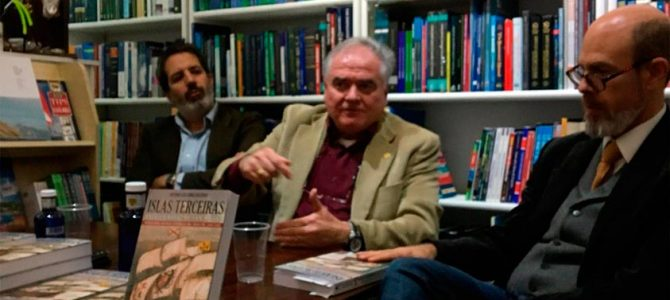H files 22 – Presentación de 'Islas Terceiras. Batalla naval de San Miguel' en la Librería Robinson por Antonio Luis Gómez Beltrán
