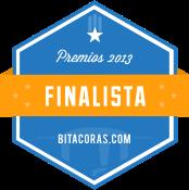 Banner de finalista de los premios Bitácoras 2013